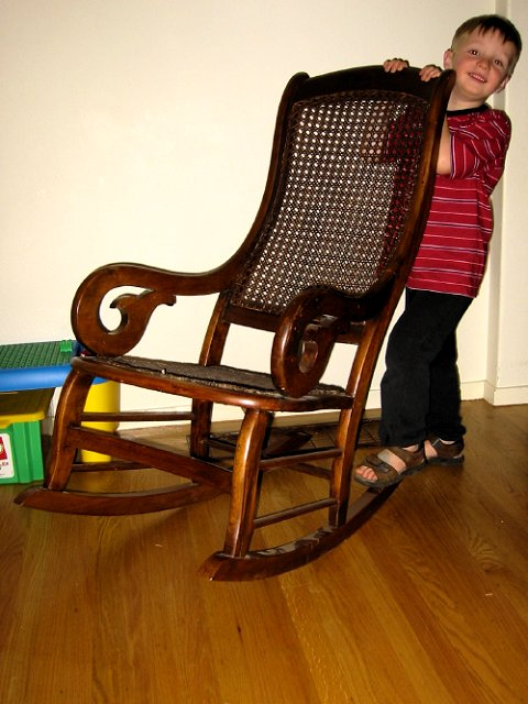 Matthew and the Rocking Chair